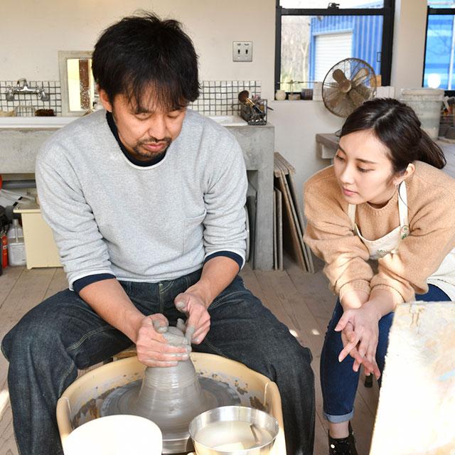 陶芸制作体験